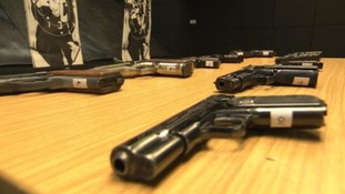 Over 250 guns handed in during gun amnesty campaign