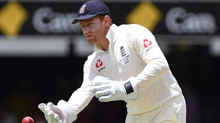 Jonny Bairstow on Day 5 of the First Test match between Australia and England