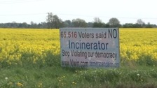 Campaigners spent years protesting against plans for an incinerator at The Willows near King's Lynn.