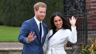 Prince Henry of Wales and Meghan Markle make first appearance after engagement announcement