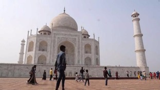 Taj Mahal erased from local state tourist brochure