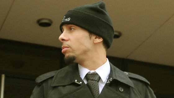 N-Dubz rapper Dappy leaving Guildford Crown Court