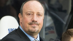 Rafael Benitez says his priority is staying in the Premier League