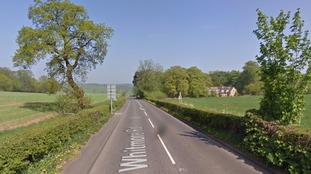 A53 in Staffordshire