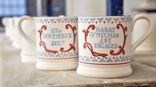 The new mug is in production in Longton, Stoke-On-Trent