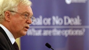 Brexit minister David Davis is facing anger after withholding detailed Brexit forecasts.