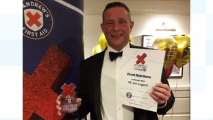 Annan police officer named Hero of the Year for saving man's life
