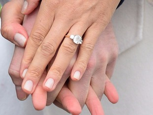 Prince Harry designed the engagement ring for his bride-to-be.
