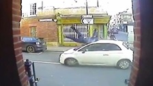 Hit and run CCTV