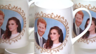 Commemorative engagement mugs made by Norfolk China in Horsford