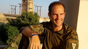 Macer Gifford from Cambridgeshire left a comfortable life as a banker to join Kurdish fighters against ISIS.