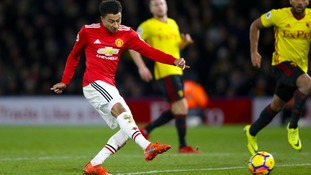 Manchester United overcame a spirited Watford fightback in a six-goal thriller at Vicarage Road