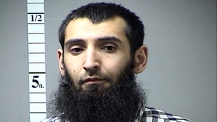 Authorities say Saipov, a resident of Paterson, New Jersey, killed eight people with a truck attack near the World Trade Centre on October 31.