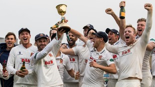 Essex won the County Championship trophy for the first time in 25 years last season.