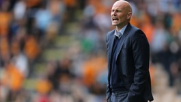 Stale Solbakken was sacked after Wolves dropped to 18th in the Championship