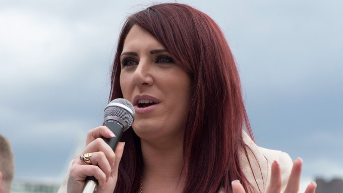 Jayda Fransen is the deputy leader of far-right group Britain First.