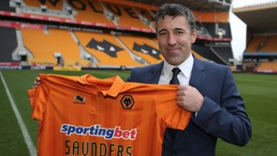 Dean Saunders left Wrexham to join Wolves