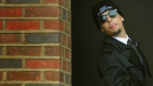 Dappy appeared at Guildford Crown Court under his real name of Dino Costas Contostavlos