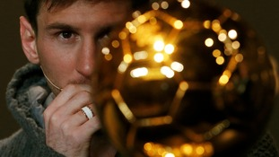 Messi, the bookies favourite, could become the most decorated player in history if he wins an unprecedented fourth Ballon d'Or