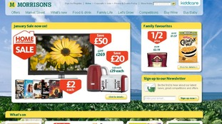 Morrisons' website