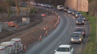Businesses in Caerphilly say trade is suffering due to lengthy roadworks