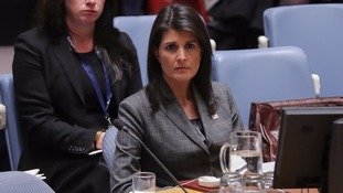 Nikki Haley tells United Nations North Korea's ICBM launch brings world 'closer to war'