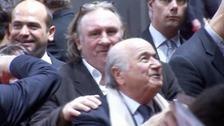 Sepp Blatter Gerard Depardieu