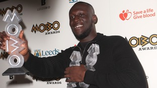 Grime star Stormzy claims hat-trick at MOBO Awards in Leeds