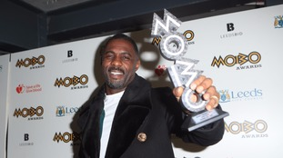 Idris Elba was honoured