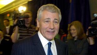 Former Nebraska Senator Chuck Hagel