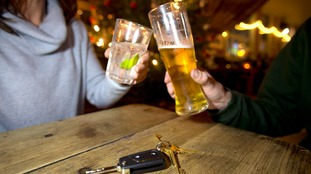 pic of drinkers and car keys