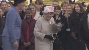 Her Majesty the Queen visits West Sussex
