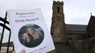 pic of service for eilidh