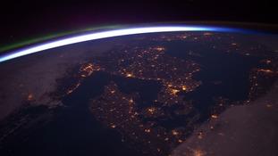 NASA image of atmosphere