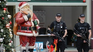 Armed police to patrol Derbyshire streets over festive period