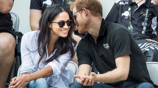 The couple pictured together in September.