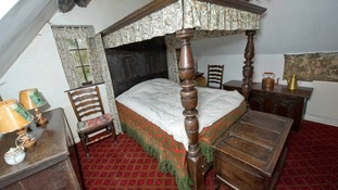 The furniture is thought to have survived the Great Fire of London