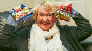 It's not the first time Irene Hardman has given sweets to members of the Royal Family.