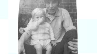 Paul Booth pictured with the stepfather David Dearlove who was convicted of murdering the toddler 49 years after his death.