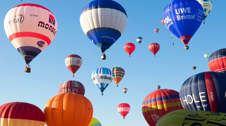 Bristol International Balloon Fiesta To Celebrate 40 Years