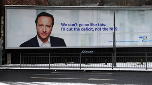A Conservative Billboard advertisement for the 2010 general election