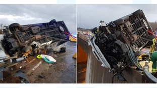 Terrifying ordeal for rescued lorry driver