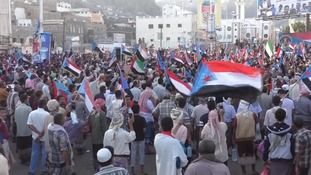 Aden calls for independence as Yemen's war rages on