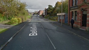 Police officers search for parents of toddler found alone in Wigan