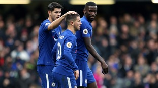 Hazard strikes twice for Chelsea as they sink Newcastle
