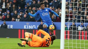 Improving Leicester defeat high flying Burnley