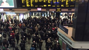 There will be no services in or out of Euston on Sunday morning.