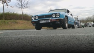Christmas Cracker: Classic cars cruise through Lake District