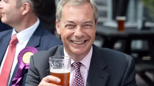 Nigel Farage says it's not hypocritical to take his £73k EU pension