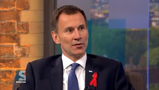 Health Secretary Jeremy Hunt said the party must back Mrs May.
